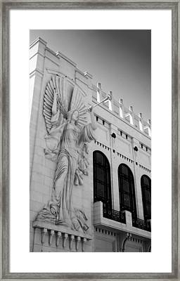 Bass Angel Bw Framed Print