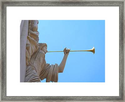 Bass Angel Framed Print