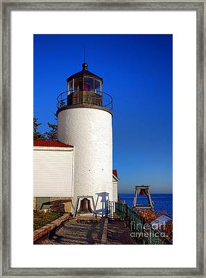 Bass Harbor Head Lighthouse Framed Print