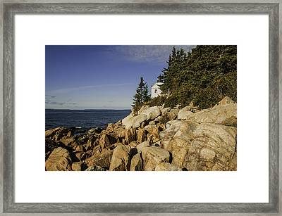 Bass Harbor Lighthouse Framed Print