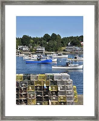 Bass Harbor - Maine - Mt. Desert Island Framed Print by Brendan Reals