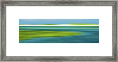 Bass Hole Framed Print