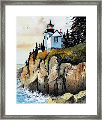 Bass Light Framed Print by Don Griffiths