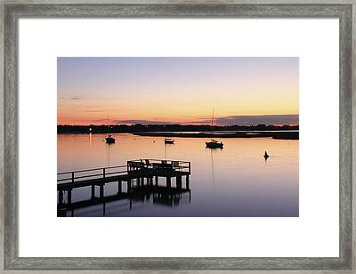 Bass River Before Sunrise Framed Print