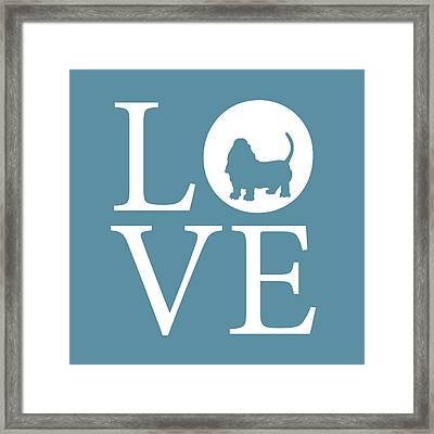 Bassett Love Framed Print