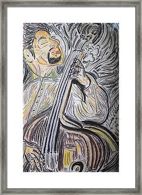 Bassman Framed Print by Diallo House
