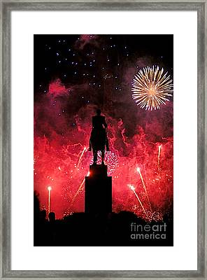 Bastille Day Framed Print by Louise Fahy