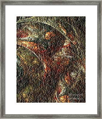 Bat Out Of Hell Framed Print by Charmaine Zoe