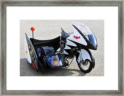 Batcycle Framed Print