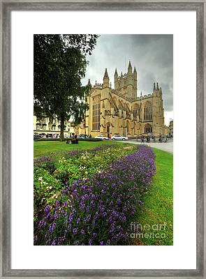 Bath Abbey 1.0 Framed Print