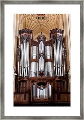 Bath Abbey Organ Framed Print