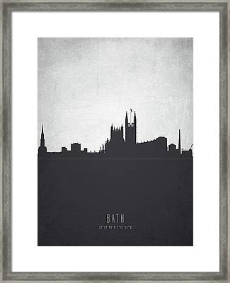 Bath England Cityscape 19 Framed Print by Aged Pixel