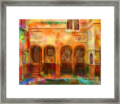 Bath England Framed Print by Marilyn Sholin