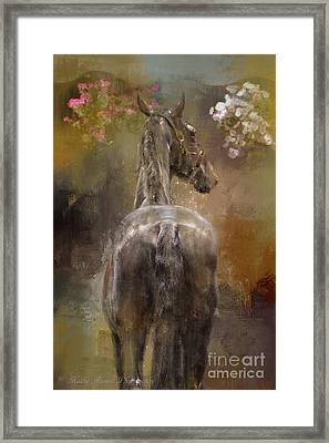 Bath Time Framed Print by Kathy Russell