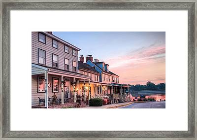 Bathed In Pink Framed Print by JC Findley