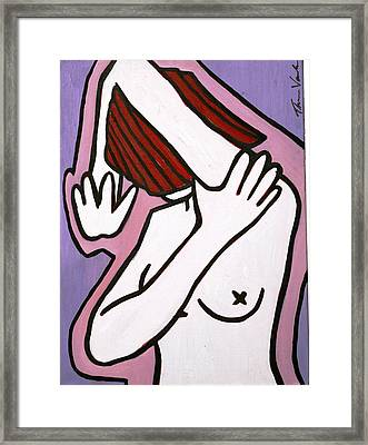 Bather Framed Print