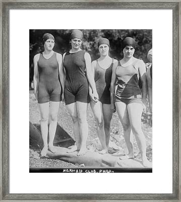 Bathing Beauties, The Philadelphia Framed Print by Everett