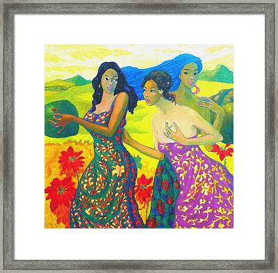 Bathing8 Framed Print by Tung Nguyen Hoang