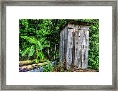 Bathroom Art Framed Print