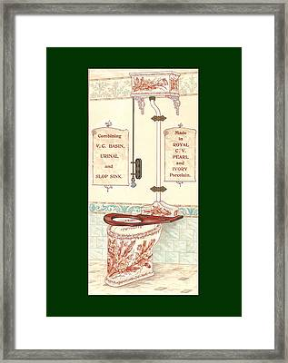 Bathroom Picture Five Framed Print