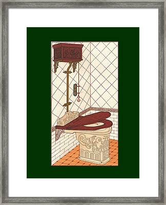 Bathroom Picture One Framed Print by Eric Kempson