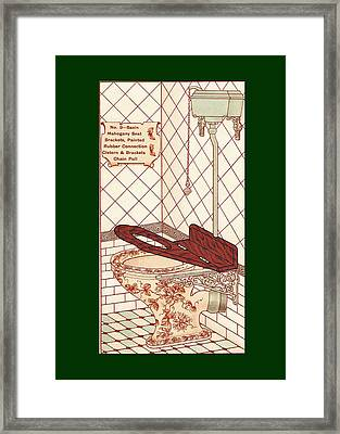 Bathroom Picture Seven Framed Print by Eric Kempson
