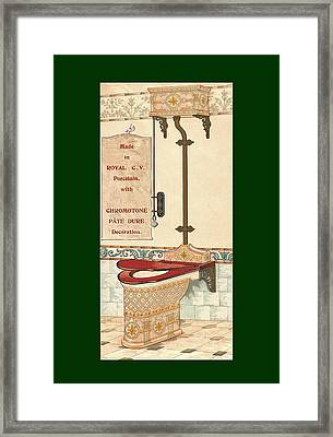 Bathroom Picture Six Framed Print
