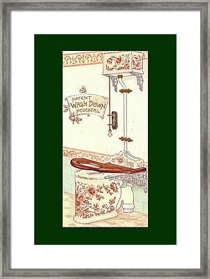Bathroom Picture Three Framed Print