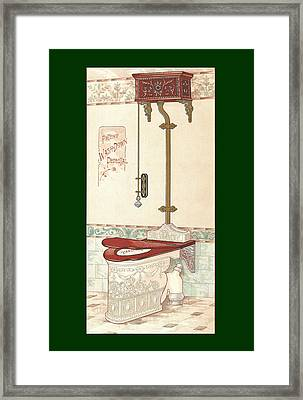 Bathroom Picture Two Framed Print