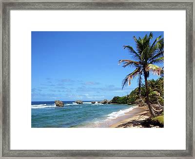 Framed Print featuring the photograph Bathsheba, Barbados, by Kurt Van Wagner
