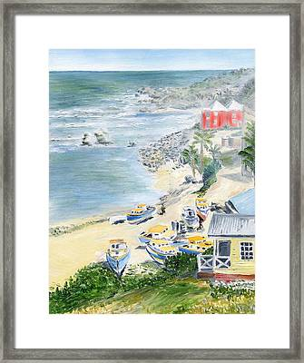 Bathsheba Lookout Framed Print