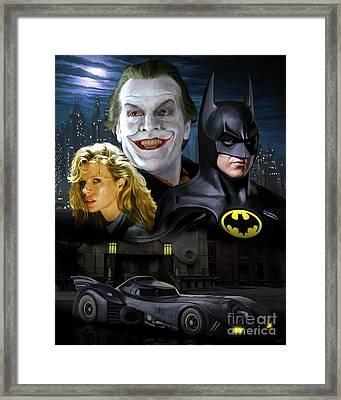 Batman 1989 Framed Print