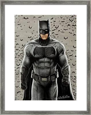 Batman Ben Affleck Framed Print