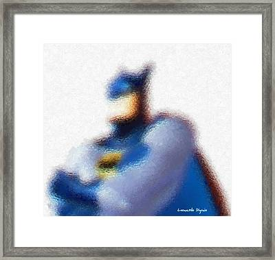 Batman - Da Framed Print
