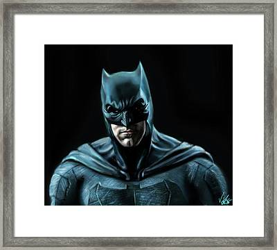 Batman Justice League Framed Print