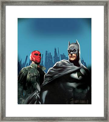 Batman Under The Red Hood 2010  Framed Print by Unknown