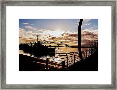 Baton Rouge Evening Framed Print by Scott Pellegrin