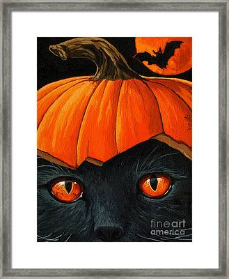 Bats In The Belfry  Framed Print
