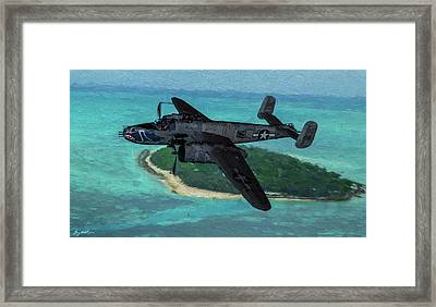 Bats Out Of Hell - Oil Framed Print