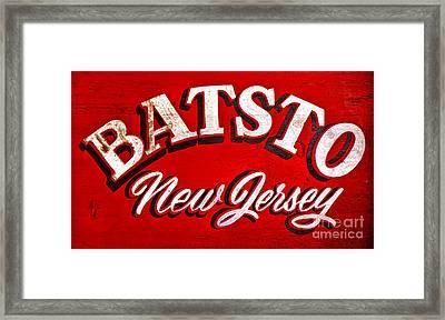 Batsto New Jersey Framed Print