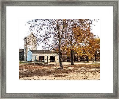 Batsto Village Scene Framed Print