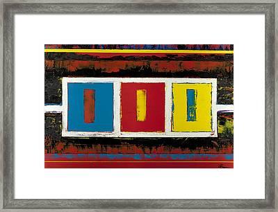Batter My Heart Framed Print by Roger Barr