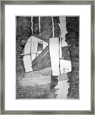 Battersea Framed Print by Charlie Spear