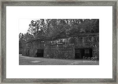 Battery Dearborn Framed Print by Richard Rizzo