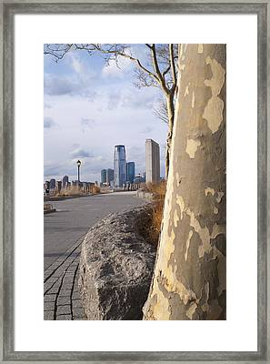 Battery Park Framed Print