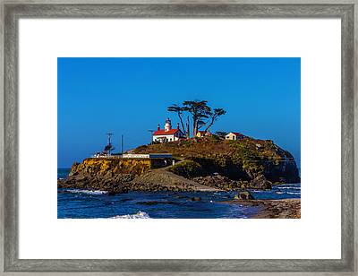 Battery Point Lighthouse Framed Print by Garry Gay