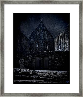Battle Abbey Ruins Framed Print by Chris Lord
