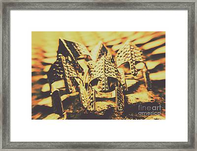 Battle Armoury Framed Print by Jorgo Photography - Wall Art Gallery