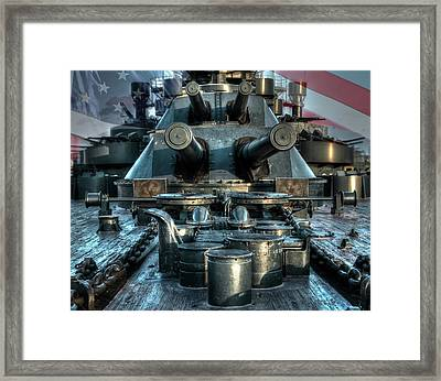 Battle Barge Texas Framed Print by Ken Shuffield