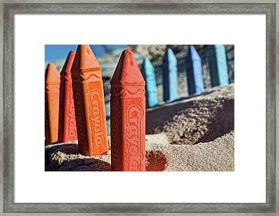 Battle Lines Framed Print by JC Findley